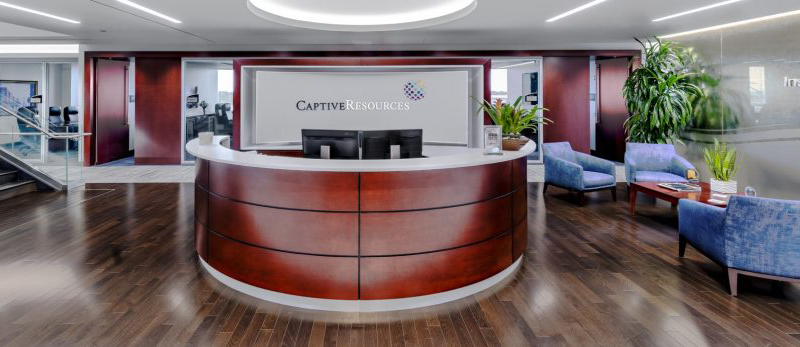 Around Captive Resources-Reception Desk