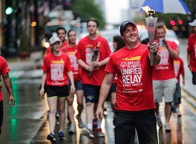 Special Olympics World Games and Unified Relay Across America